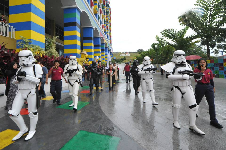 LEGOLAND Malaysia Star Wars Parade Stormtroopers