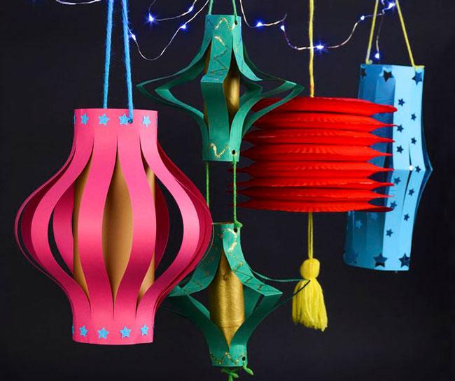 Diy Lanterns For Mid Autumn Singapores Child
