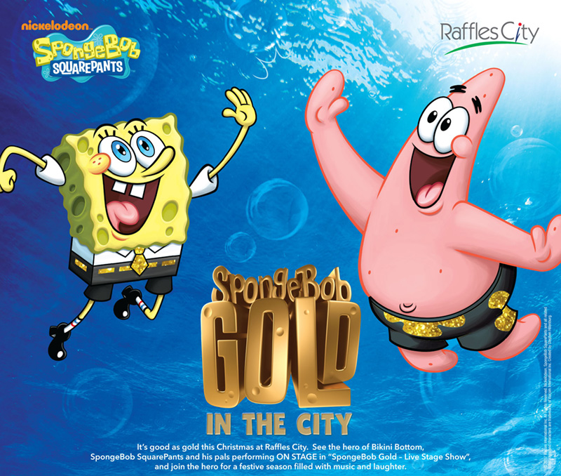 SpongeBob Gold in the City